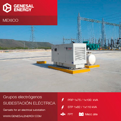 Supply of generator sets to the Tres Mesas wind farm in Mexico