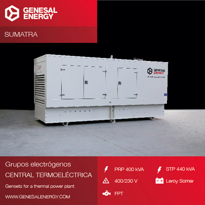 Made-to-measure power for a thermoelectric power plant in Sumatra