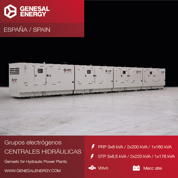 We supplied emergency power to the hydroelectric power plants in the Miño-Sil river basin.
