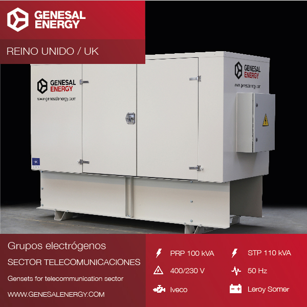 Emergency Generator Set to provide power to a Data Center