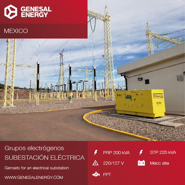 More projects in Mexico: emergency power for Topolobampo II