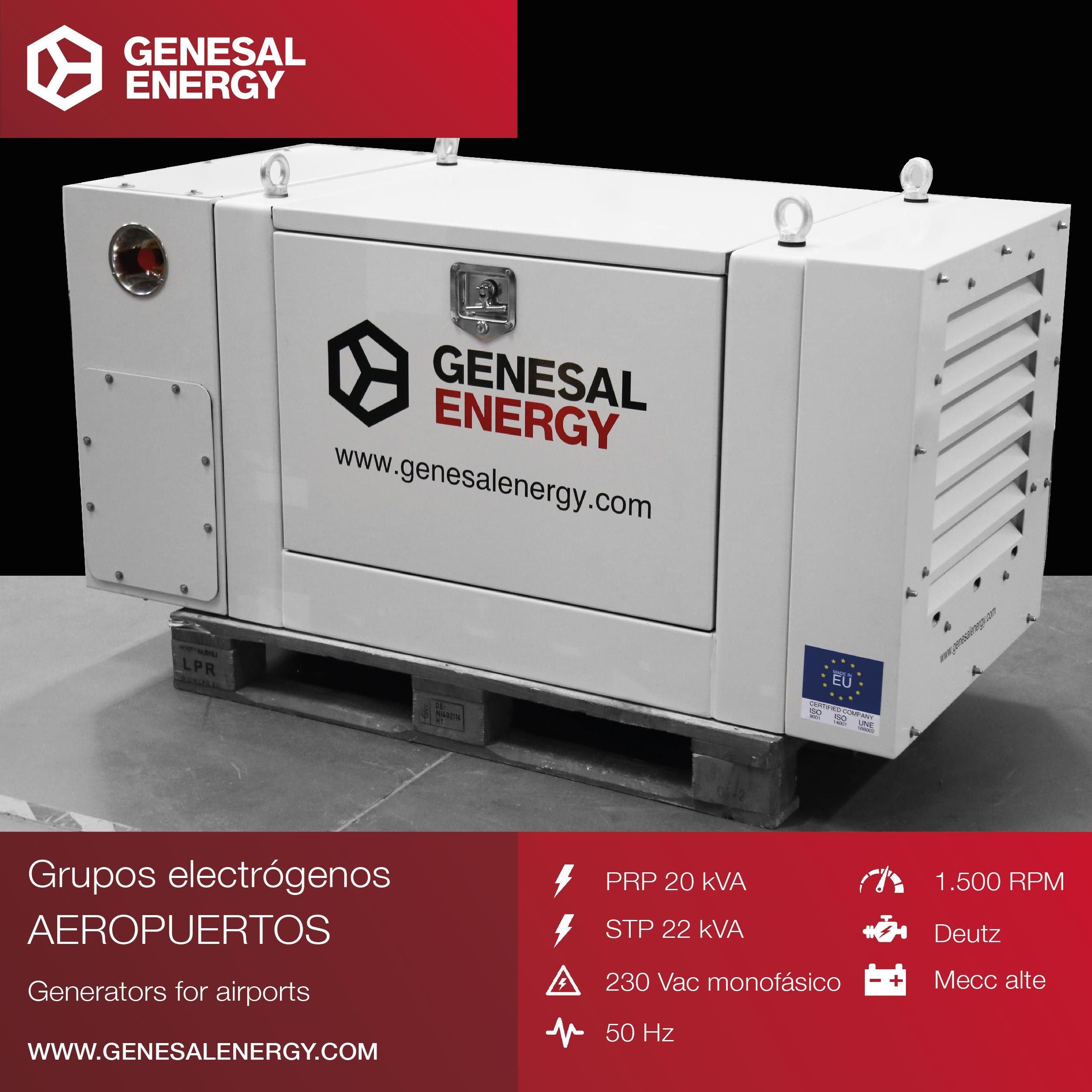POWER GENERATOR FOR AN AIRPORT MOBILE TOWER - KENYA