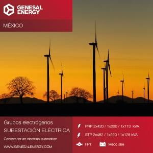We continue growing in the renewable energy industry: emergency power for two new wind farms in Mexico