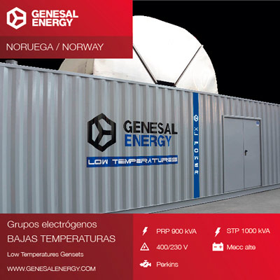 Low temperature emergency diesel genset for a Norwegian ship