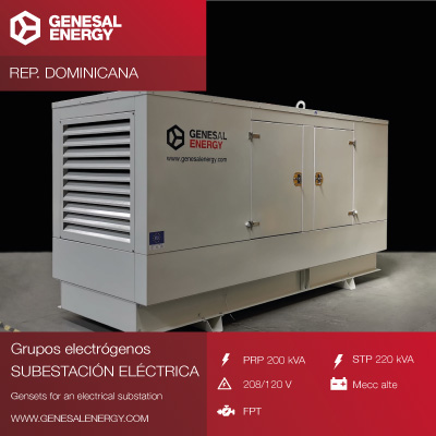 We increased our presence in the Dominican Republic through antiseismic generator sets