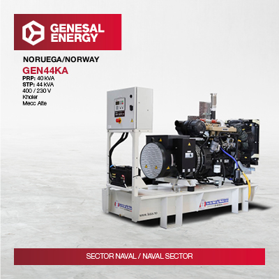 Emergency generator sets for the Norwegian School of Commercial Diving, one of the most important diving centers in the world