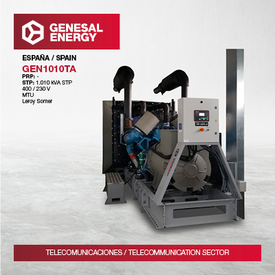 RTVE trusts in Genesal Energy to guarantee their connections in Mesón do Vento, one of their main strategic broadcast centers