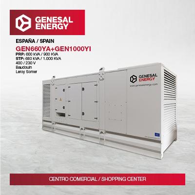 Genesal Energy will guarantee power supply to Vialia, the biggest shopping center in Vigo