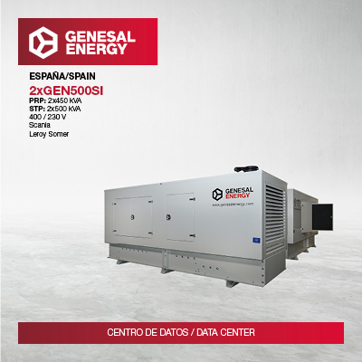 """""""Turnkey"""" power to reinforce the security of a data center in Tenerife"""