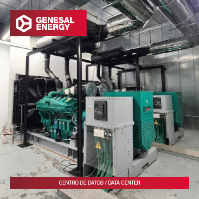 We maximize security: special generator sets to protect data in A Coruña and Bilbao Data Centers