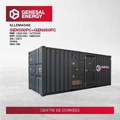 Nous fournissons une alimentation de secours à l'un des principaux centres de données d'Europe