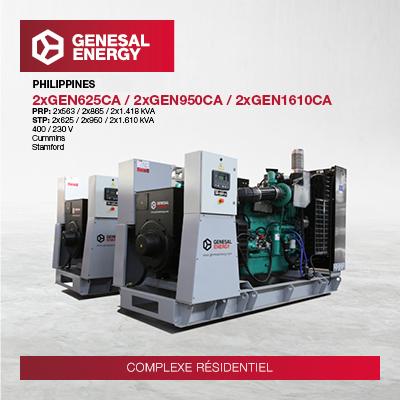 Genesal Energy garantit l'approvisionnement d'énergie à des centaines de foyers dans trois complexes de luxe aux Philippines