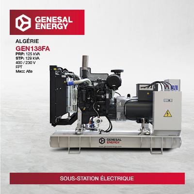 Nous avons fourni à la société d'État algérienne Sonelgaz des groupes électrogènes pour fonctionner à des températures extrêmes : 55 °C