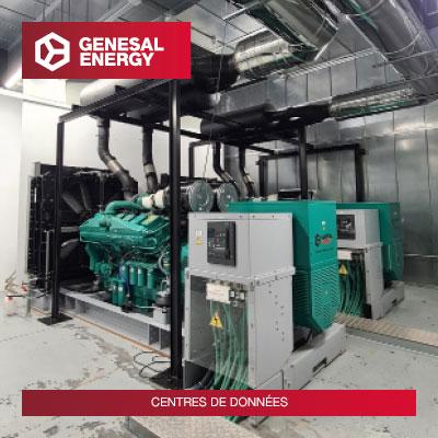 Nous renforçons la sécurité: des groupes électrogènes spéciaux pour protéger les données dans les centres de données à Corogne et à Bilbao