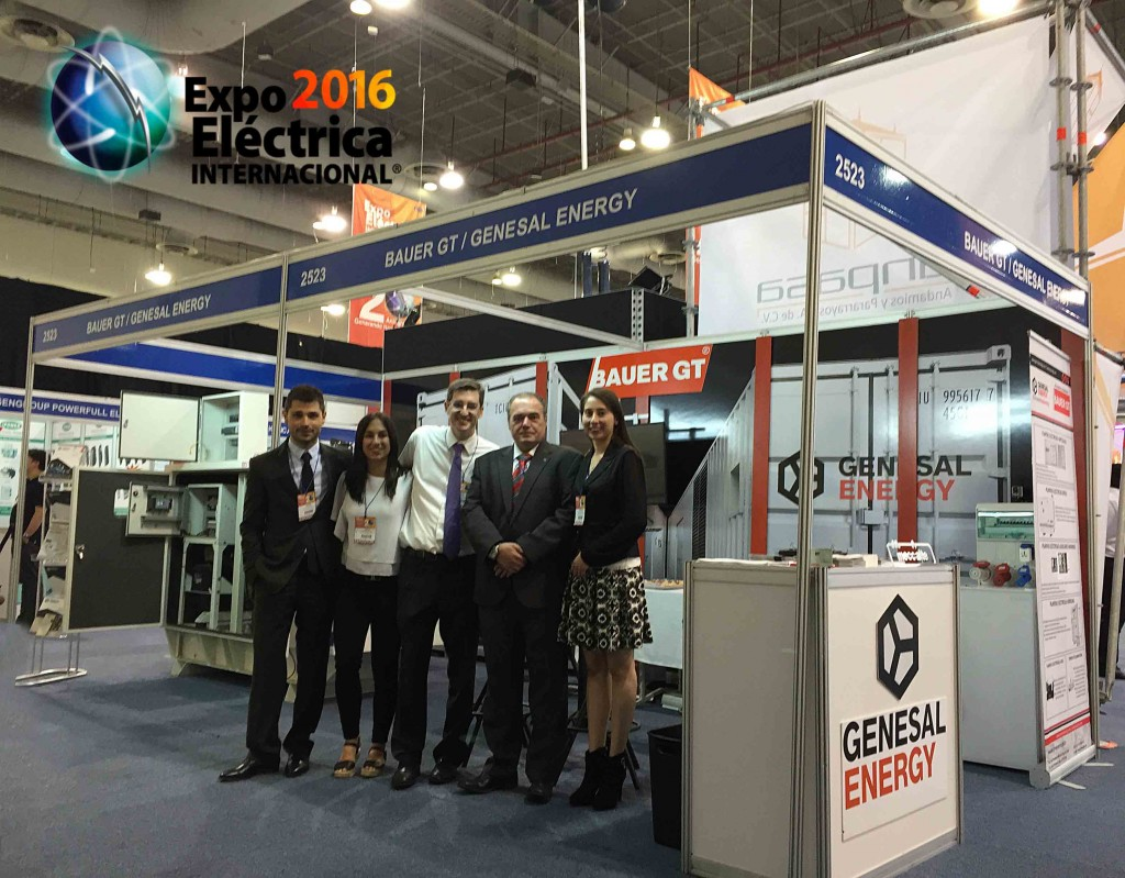 Expo Eléctrica Internacional - Equipo Genesal Energy