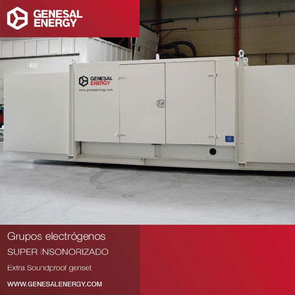 GEN80FC - Grupo electrógeno super insonorizado