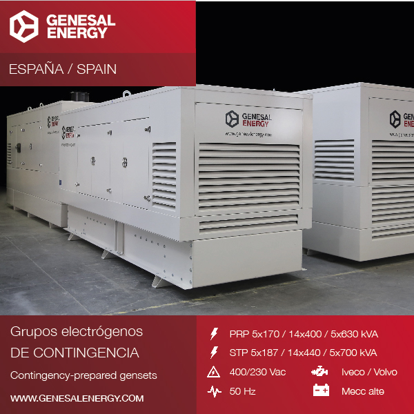 We supplied 24 gensets to guarantee the power supply in the Balearic Islands