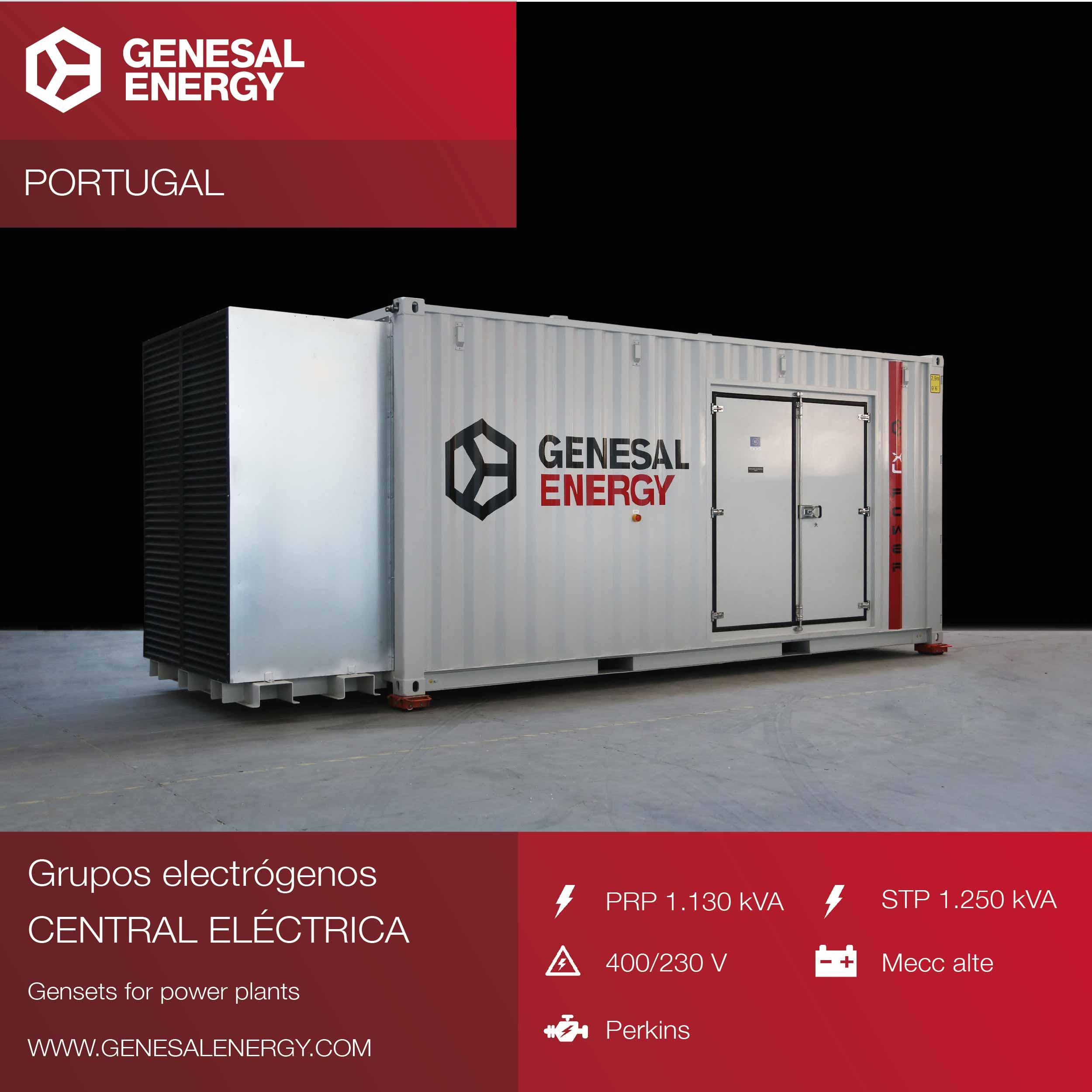 Diseñamos los grupos electrógenos para dos plantas de biomasa: las centrales de Viseu y Fundão, en Portugal