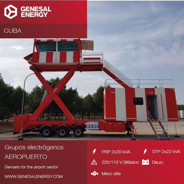 Equipos de emergencia para garantizar la fiabilidad de una torre de control aérea en Cuba