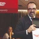 Julio Arca recoge el premio Pyme del año 2019 para Genesal Energy