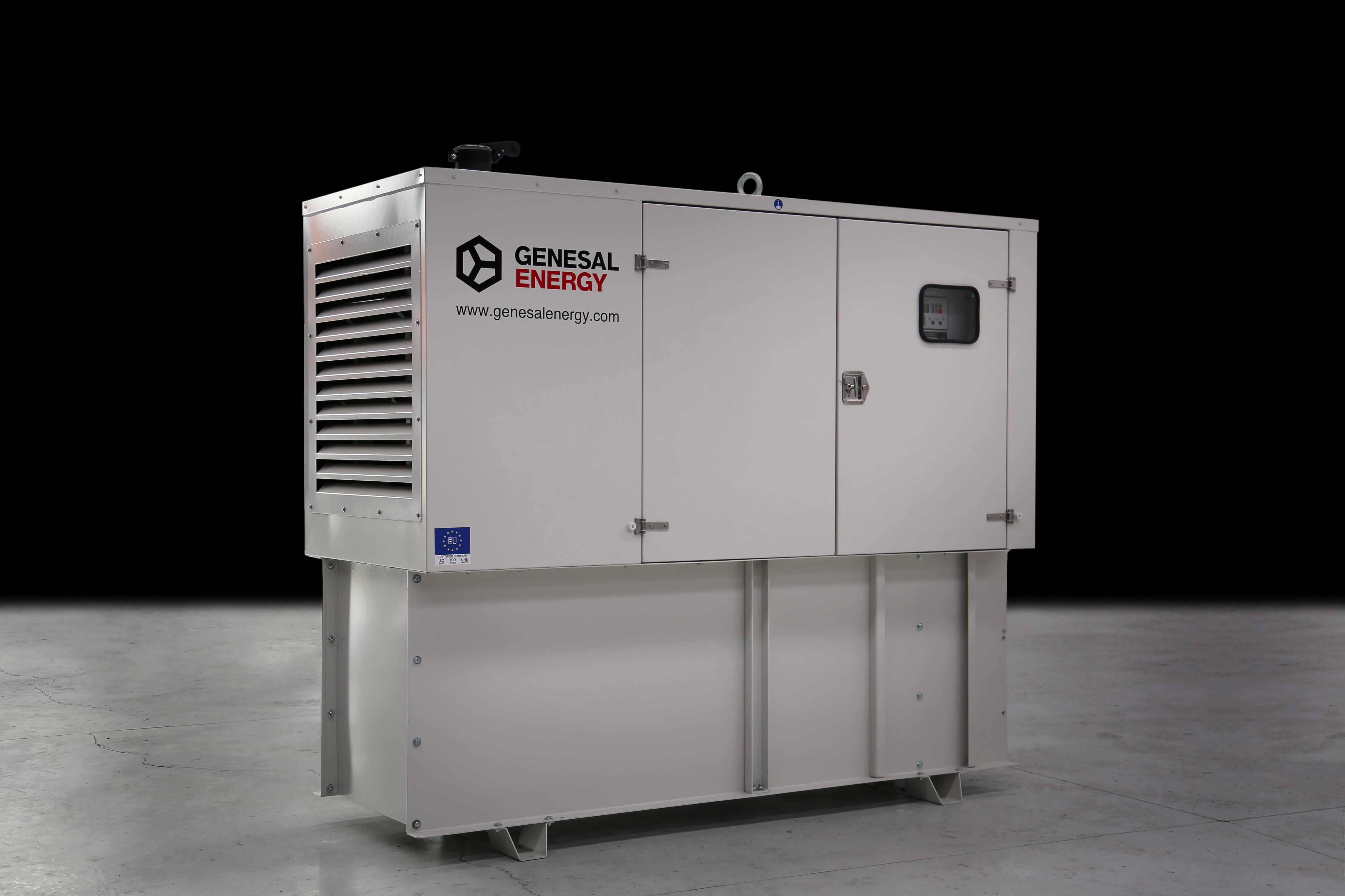 Grupo electrógeno que hemos diseñado para distintas subestaciones eléctricas de Zaragoza.