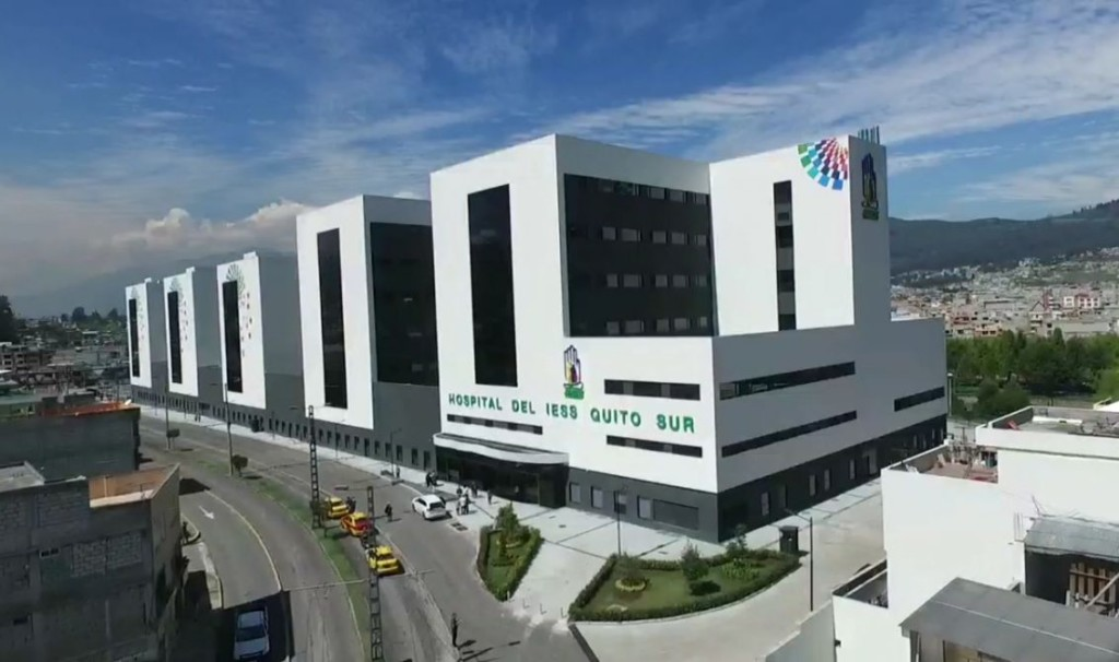 We installed generator sets in the Quito Sur Hospital in