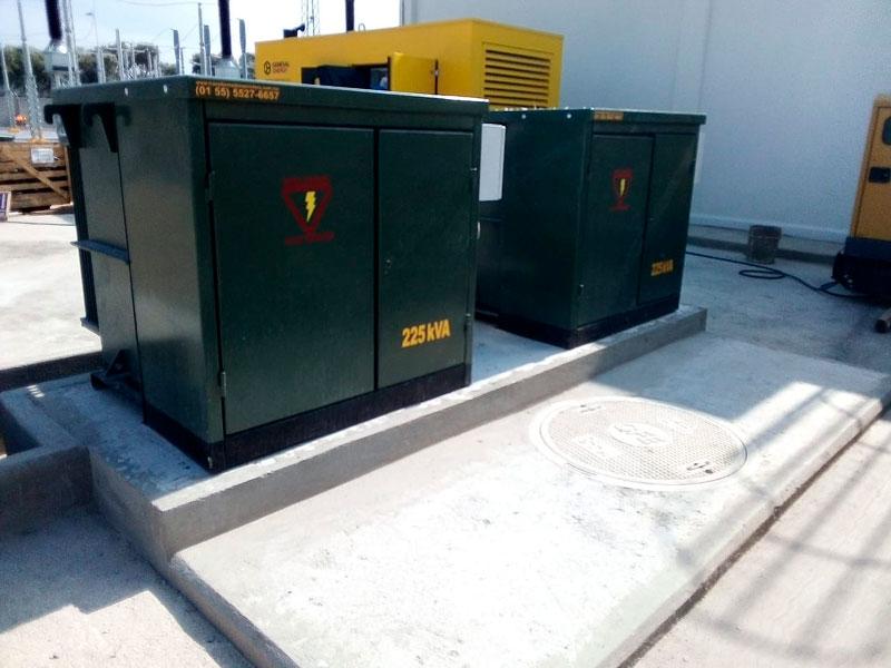 Fabricación de transformadores para dos plantas solares en México