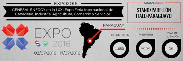 Banner feria paraguay