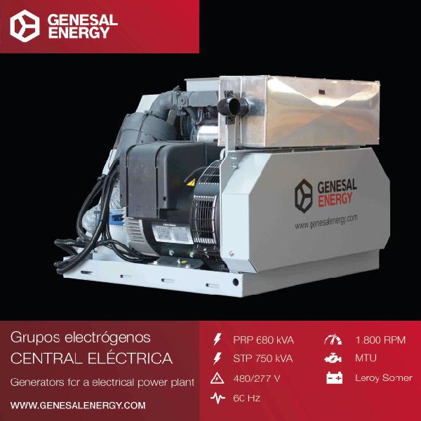 Grupo Electrógeno Super Compacto GEN33D