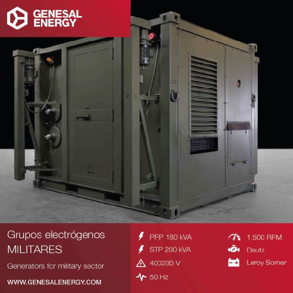 GENESAL ENERGY suministra en estado operativo dos Plantas de Energía para un Sistema Radar 3D Móvil