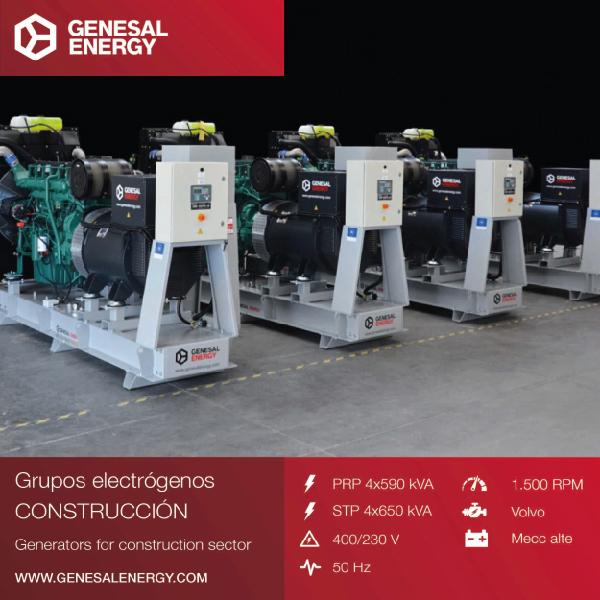 Genesal Energy suministra energía de emergencia a la piscifactoría de Steinkjer (Noruega) con generadores sincronizados en paralelo