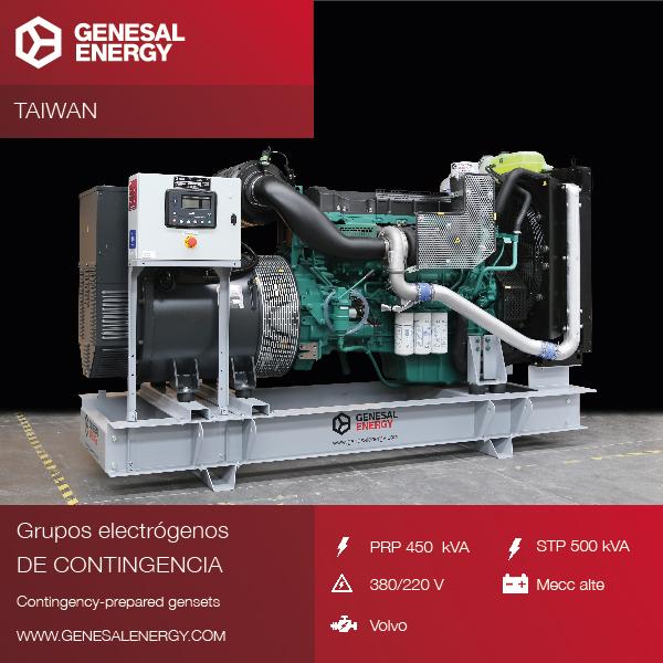 Reforzamos nuestra presencia en Asia con la entrega de grupos electrógenos de contingencia en un nuevo mercado: Taiwan
