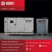 Nuestra energía conquista África: grupos electrógenos especiales para soportar el calor extremo