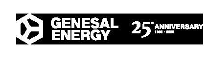 Logo 25 aniversario de Genesal Energy
