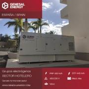 Grupo electrógeno para el sector hotelero en Tenerife