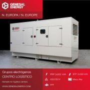Grupo electrógeno para centro logístico en el norte de Europa