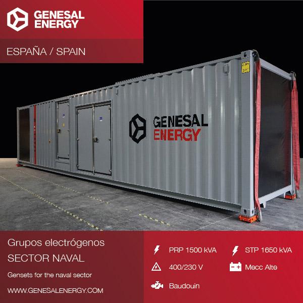 Energía de emergencia para el astillero de Navantia San Fernando