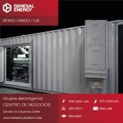 Suministramos energía de emergencia a un centro de negocios en Manchester
