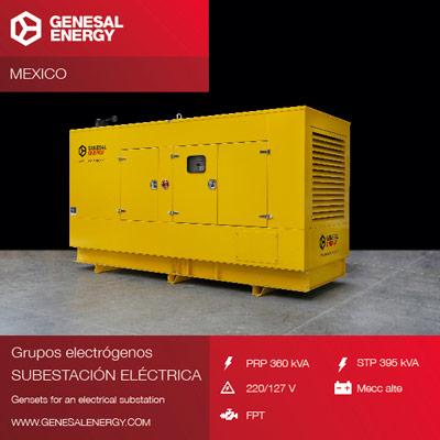 Grupo electrógeno para planta solar de Cuyoaco, energía renovable para México