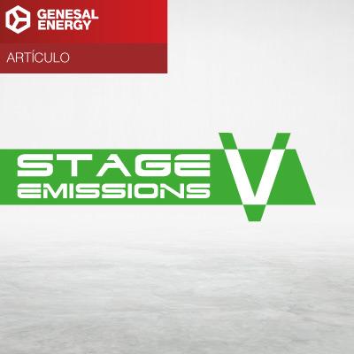 Stage V - Grupos electrógenos Genesal Energy