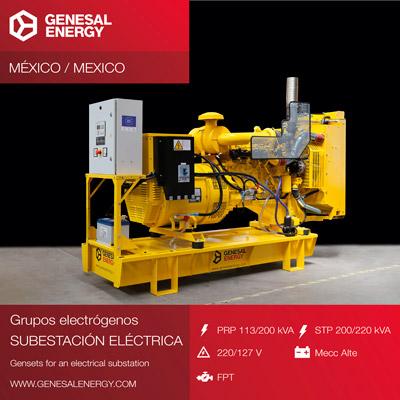 Fabricación de grupos electrógenos y transformadores para dos plantas solares en México