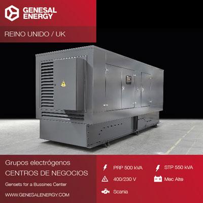 Diseño y personalización de la cabina de uno de nuestros grupos electrógenos según requisitos de nuestro cliente