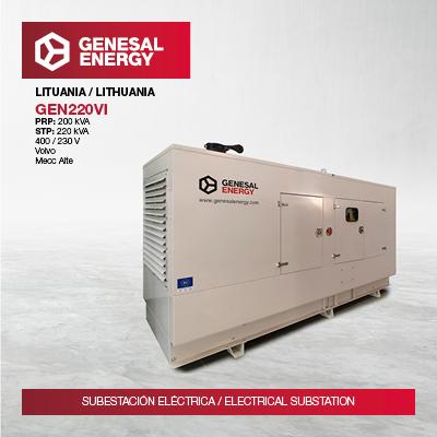 Llevamos energía de emergencia a la conexión Polonia-Lituania, uno de los grandes retos eléctricos de los países bálticos