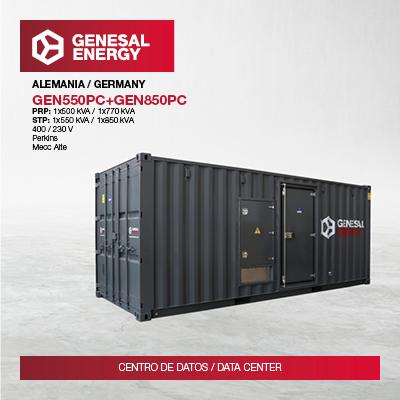 Suministramos energía de emergencia a uno de los principales Data Centers de Europa